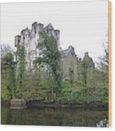 Donegal Castle Ruins Wood Print