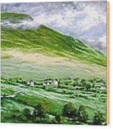 Donegal Hills Wood Print