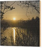 Donegal Morning - Lough Eske Wood Print