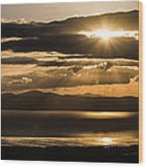 Donegal Sunset Wood Print