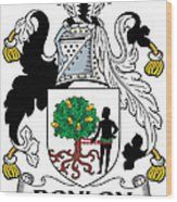 Donlon Coat Of Arms Irish Wood Print