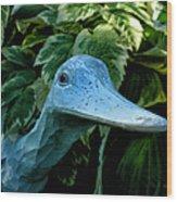 Donna's Quack Wood Print