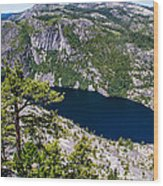 Donnel Lake  Wood Print