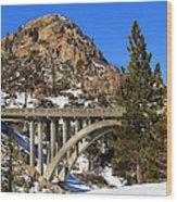 Donner Pass Wood Print