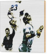 Donnie Baseball  Don Mattingly Wood Print by Iconic Images Art Gallery David Pucciarelli