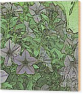 Donovan's  Garden Wood Print by Mark Herman