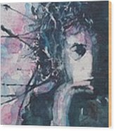 Don't Think Twice It's Alright Wood Print by Paul Lovering