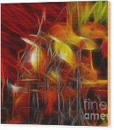 Doobies-93-keith-gg4-fractal Wood Print