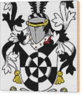 Doolan Coat Of Arms Irish Wood Print