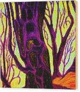 Doom And Gloom Wood Print