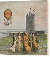 Doonagore Maidens Wood Print
