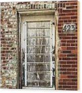 Door 423 Wood Print