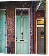 Door 939 Wood Print
