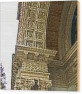 Door Arch Wood Print