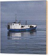 Door County Gills Rock Trawler Wood Print