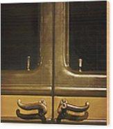 Door Handles Wood Print