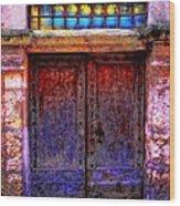 Door Number 5 Wood Print
