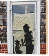 Door Number Five Wood Print