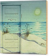 Door Of Perception Wood Print