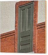 Door To No Where Wood Print
