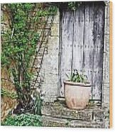 Door To The Cotswolds Wood Print
