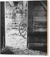 Doorway Through Time Wood Print