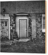 Doors And Vents Wood Print