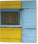 Doors And Windows Buenos Aires 15 Wood Print
