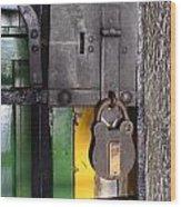 Doors And Windows Minas Gerais State Brazil 12 Wood Print