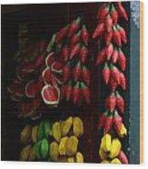 Doors And Windows Minas Gerais State Brazil 15 Wood Print