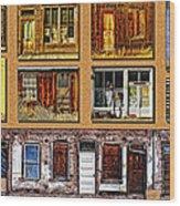 Doors And Windows Wood Print
