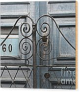 Doors And Windows Salvador Brazil 2 Wood Print