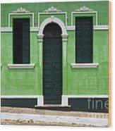 Doors And Wndows Lencois Brazil 7 Wood Print
