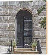 Doors Of Albany 3 Wood Print