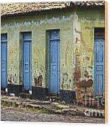 Doors Of Alcantara Brazil 4 Wood Print