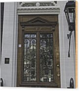 Doors Of Amsterdam 01 Wood Print