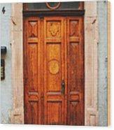Doors Of Europe Wood Print