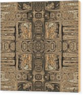 Doors Of Zanzibar Allspice Wood Print