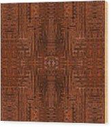 Doors Of Zanzibar Cayenne Wood Print