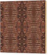Doors Of Zanzibar Clove Wood Print