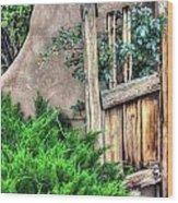 Door, Santuario De Chimayo Wood Print