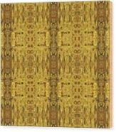 Doors Zanzibar Saffron Wood Print