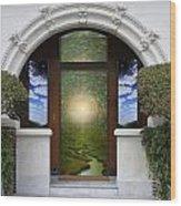 Doorway 10 Wood Print