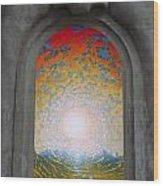 Doorway 16 Wood Print