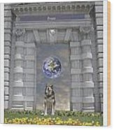 Doorway 42 Wood Print