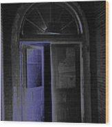 Doorway Into The Dark Wood Print
