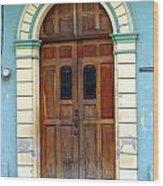 Doorway Of Nicaragua 001 Wood Print
