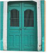 Doorway Of Nicaragua 002 Wood Print