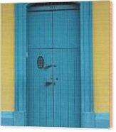 Doorway Of Nicaragua 003 Wood Print