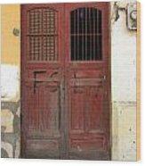 Doorway Of Nicaragua 006 Wood Print